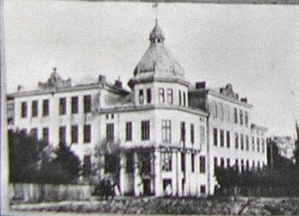 гімназія,, центральний вхід,1928
